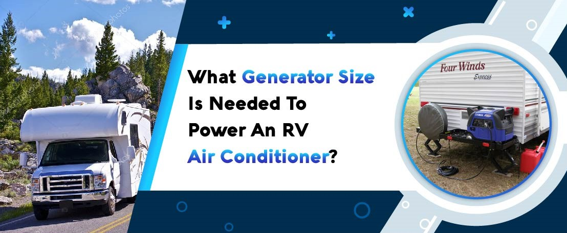 Generator for power an RV